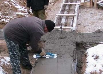 До каких минимальных температур можно заливать бетон? Правила цементирования на улице!