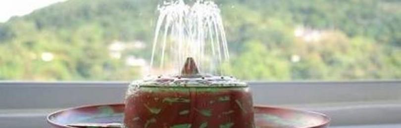 Как использовать настольные мини-фонтанчики