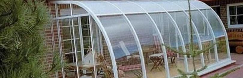 Пристройка веранды и террасы из поликарбоната к дому. Фото идеи