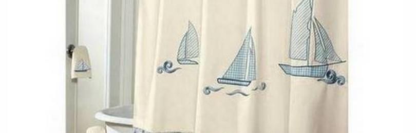 Какие бывают шторы (занавески) для ванной