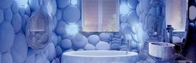 Дизайн интерьера ванной в морском стиле