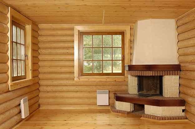 фото блок хауса изнутри
