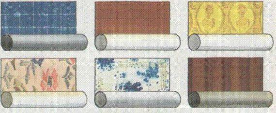 рулоны для отделки
