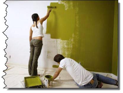 своими руками покраска стен