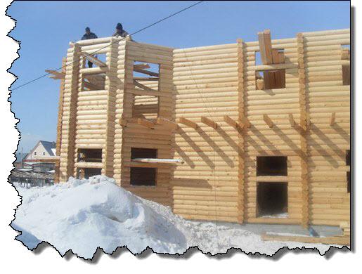 строительство зимой