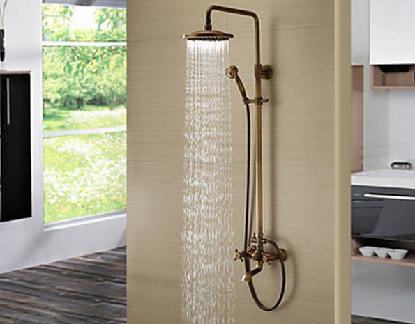 ручной и настенный душ