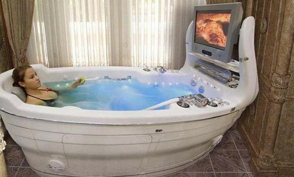 отдых в ванне