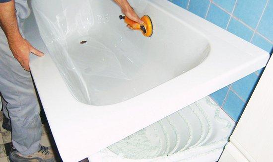 вкладыш в ванну