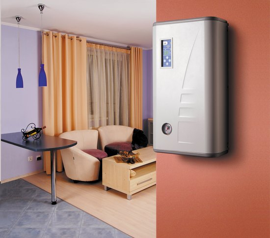 Электрический котел не испортит интерьер дома
