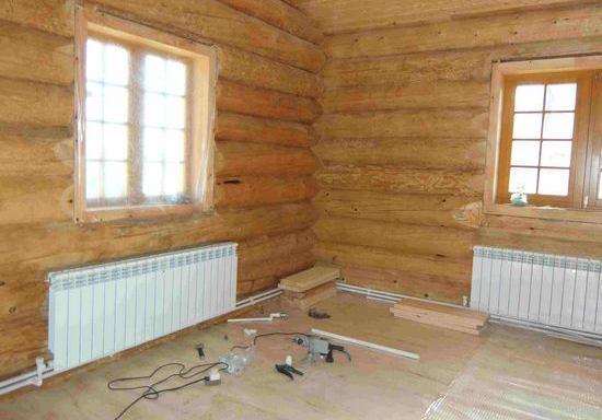 Отопление в деревянном доме