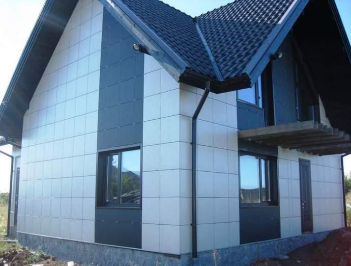 Сухие смеси для отделки фасадов