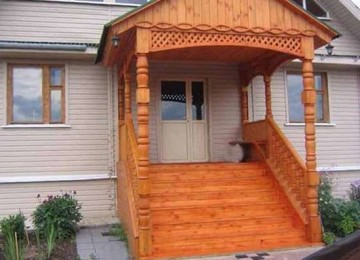 Как сделать крыльцо своего дома красивым