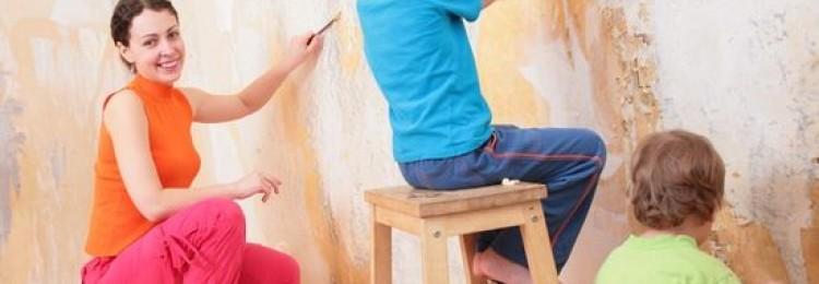 Как содрать старые обои? Как избавить стены от бумажных и виниловых обоев