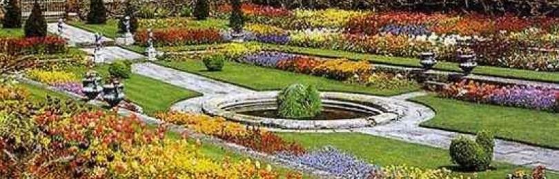 Что такое регулярный стиль в саду: идеи дизайна