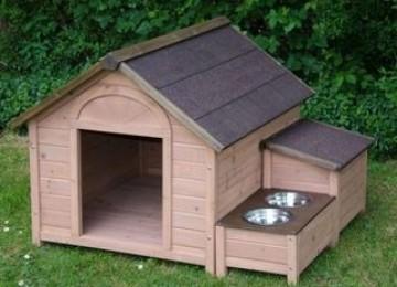 Расходные материалы и оптимальные размеры будки для немецкой овчарки. Как сделать собачью конуру своими руками?