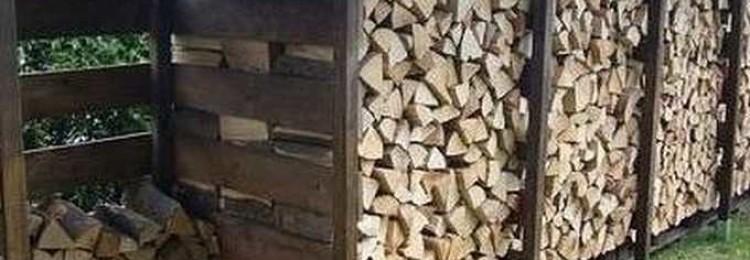 Как сделать поленницу для дров своими руками? Как сложить поленья без навеса?