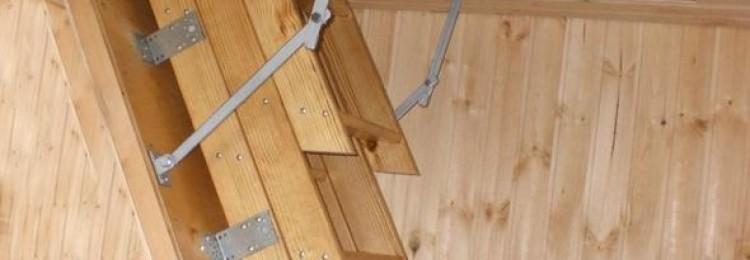 Как сделать лестницу на чердак самостоятельно