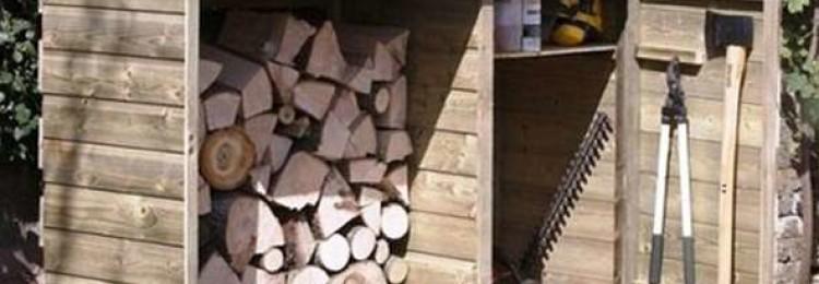 Строим на даче сарай для хозяйственного инвентаря