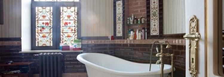 Как сделать ванную по английски в классическом стиле