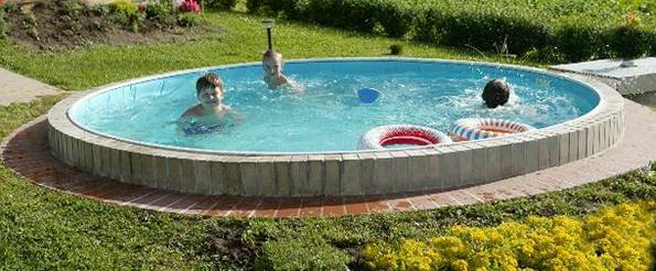сделать бассейн самостоятельно