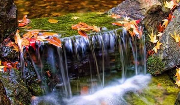 падающая вода фото