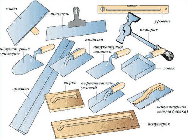 инструменты для работ