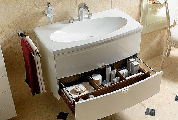 красивый умывальник для ванной