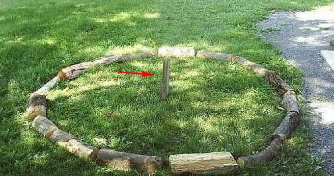 инструкция укладки дров по кругу