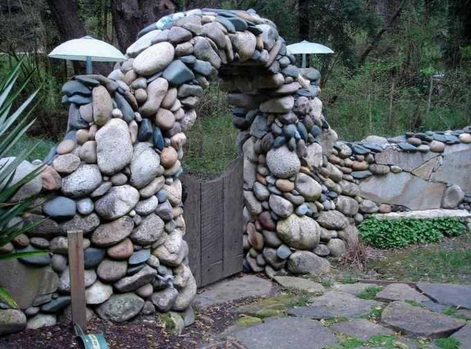 камень в дизайне фото