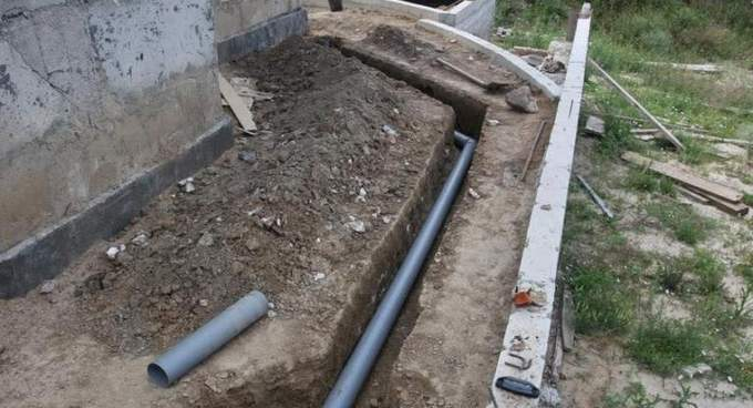 прокладка труб под землей