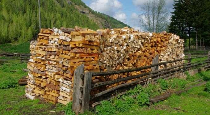 правила укладки дров